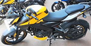 Bajaj Pulsar NS200 YELLOW MET 2018
