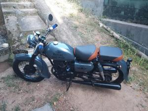Honda Twin Motor Bike